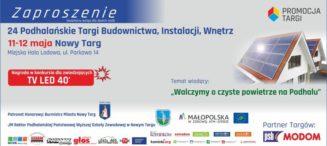 24. Podhalańskie Targi Budownictwa, Instalacji, Wnętrz